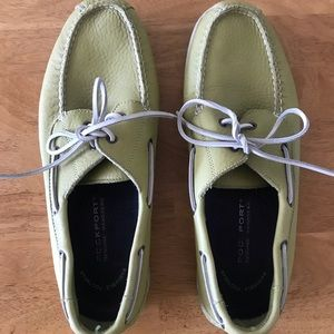 Rockport Lime Green Men's 11M Boat Shoes Casual